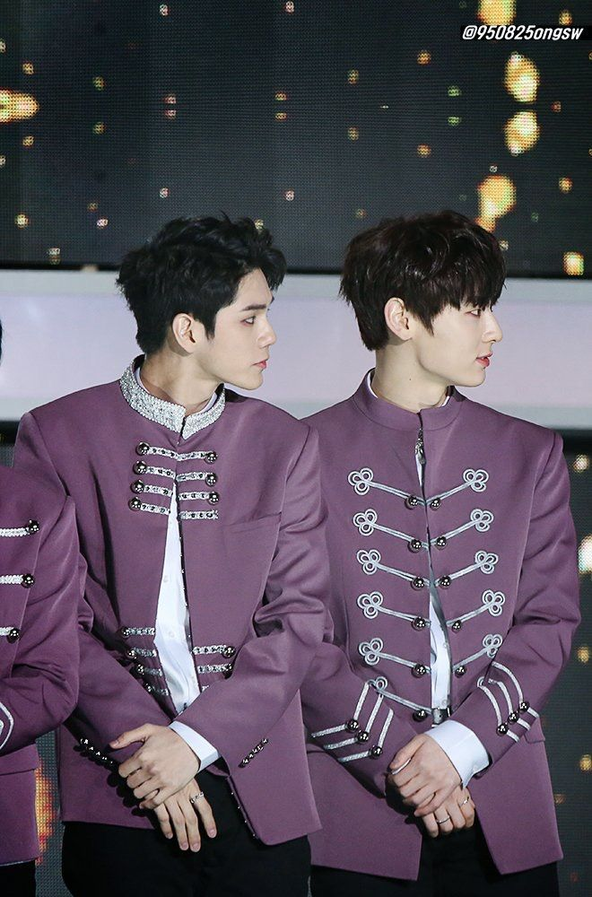 180125 Wanna One at Seoul Music Awards #Ong #Minhyun