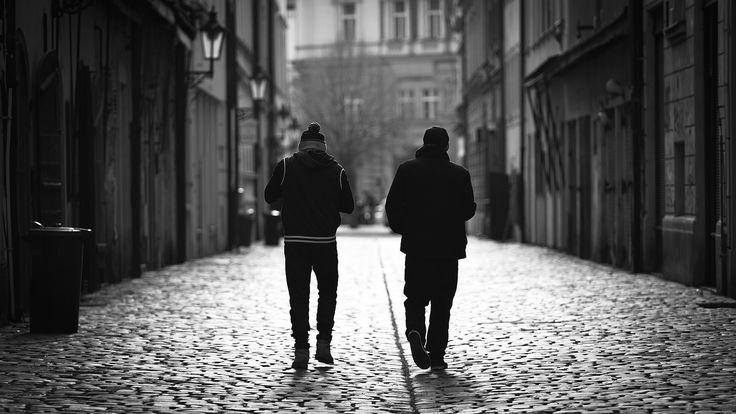 Two pals | by Lukas Krasa