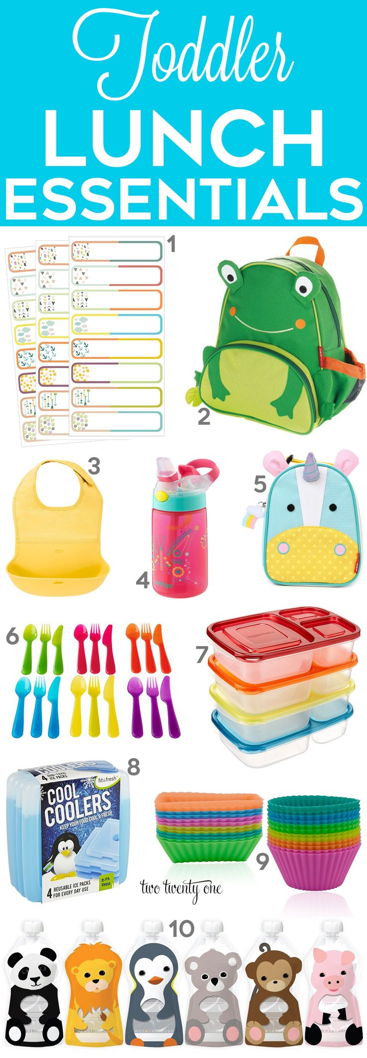 Toddler lunch essentials! Life-saving products to make packing your child's…