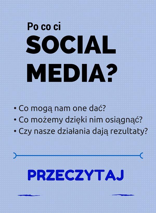 Social media stały się kanałem, który wykorzystują także firmy. Nie tylko do spotkań i kontaktów, ale także w celu promocji. Wykorzystaj je także ty.