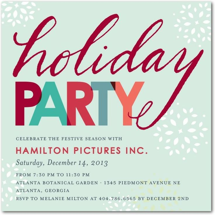 Work Christmas Party Invites: Doting Dots White Flat Photo Holiday Cards