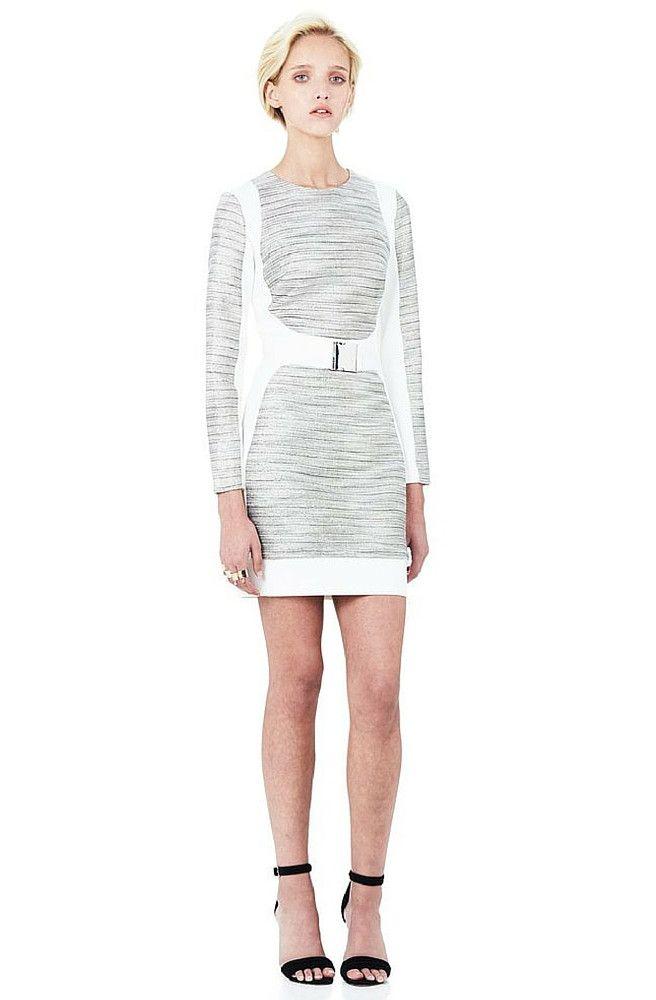 Minty Meets Munt - Mystified Long Sleeve Mini Dress