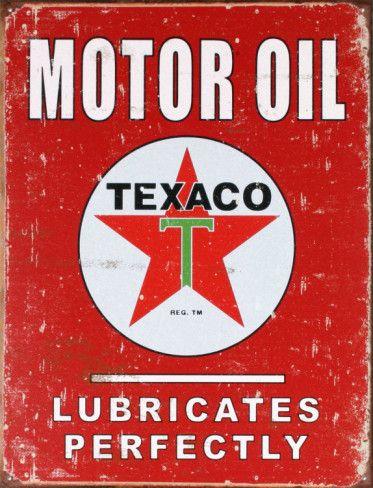 Texaco Motor Oil- vintage ad