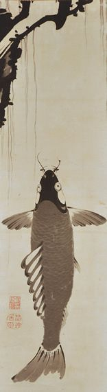 Ito Jakuchu (1716-1800), Japanese, 1798 - hanging scroll, ink on paper, 103 x 30.5 cm