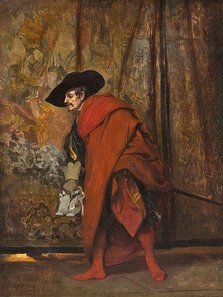 Polonius behind the curtain Art: Jehan Georges Vibert, 1968