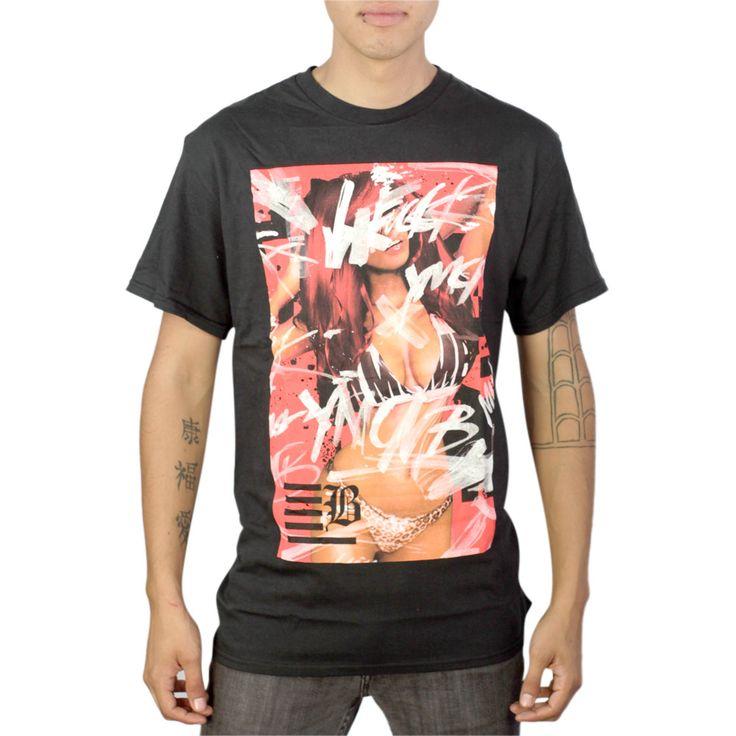 YMCMB Little Sweetness Black T-shirt