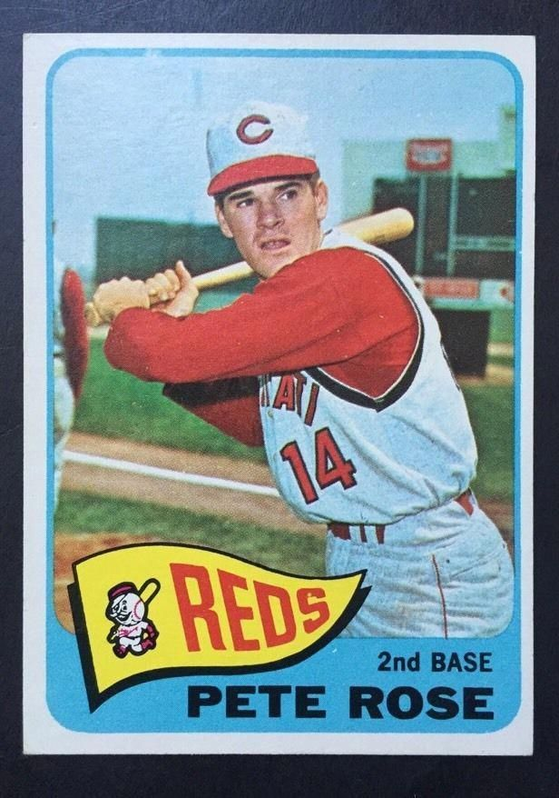 1965 Topps Baseball #207 Pete Rose {} Cincinnati Reds RP