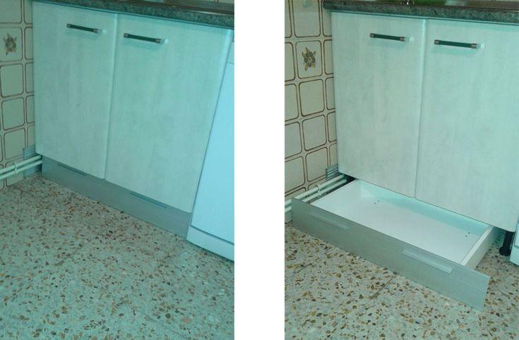 M s de 1000 ideas sobre cajones de la cocina en pinterest - Mueble almacenaje cocina ...