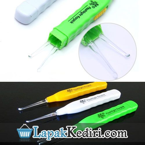 Alat Pembersih Telinga Earpick Flashlight | Barang Unik | Produk Unik | Kado Unik | Hadiah Unik | SMS 0896 7372 4335 | BBM 24e58173
