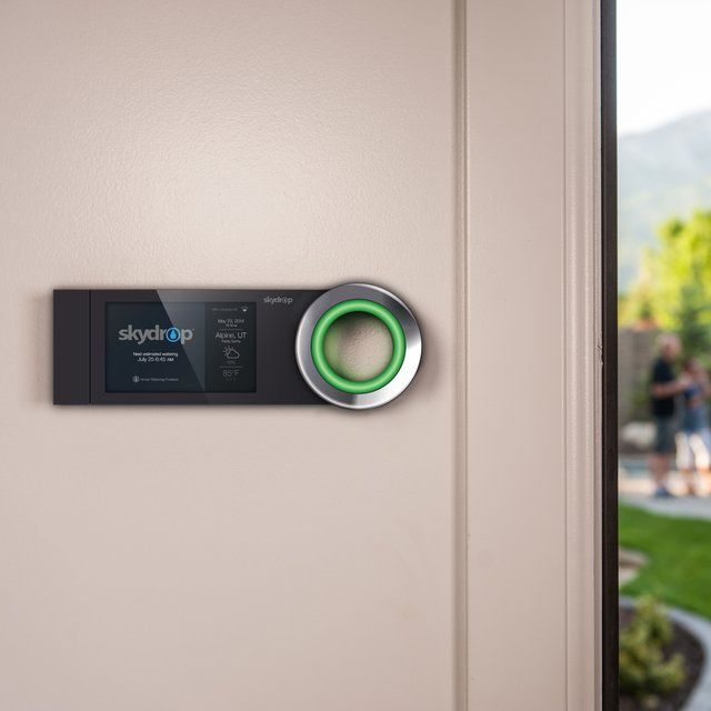 Ease yourself from taking good care of your garden and save on water usage with #Skydrop Sprinkler #Controller.
