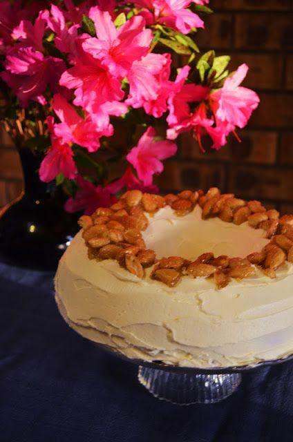 German Bundt Cake with Cherry Jam and Rum Buttercream- winner winner ...