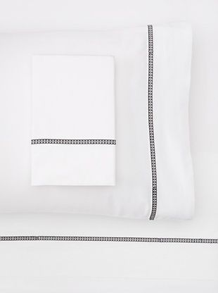 54% OFF Westport Linens Circle Link Sheet Set (Black)
