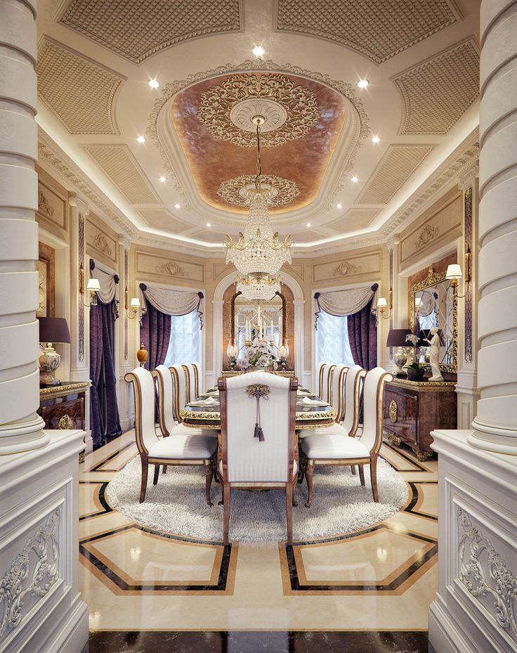 Luxury Mansion Interior Qatar
