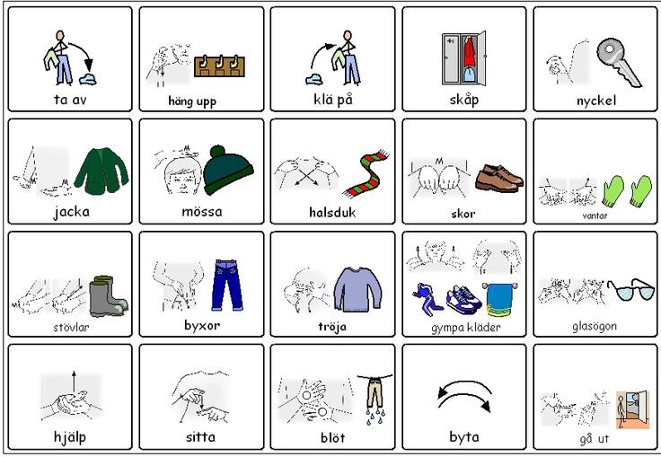Gå ut- karta  Med både widgit symbol och teckenbilder. Kan både användas som lexikon eller pek-karta
