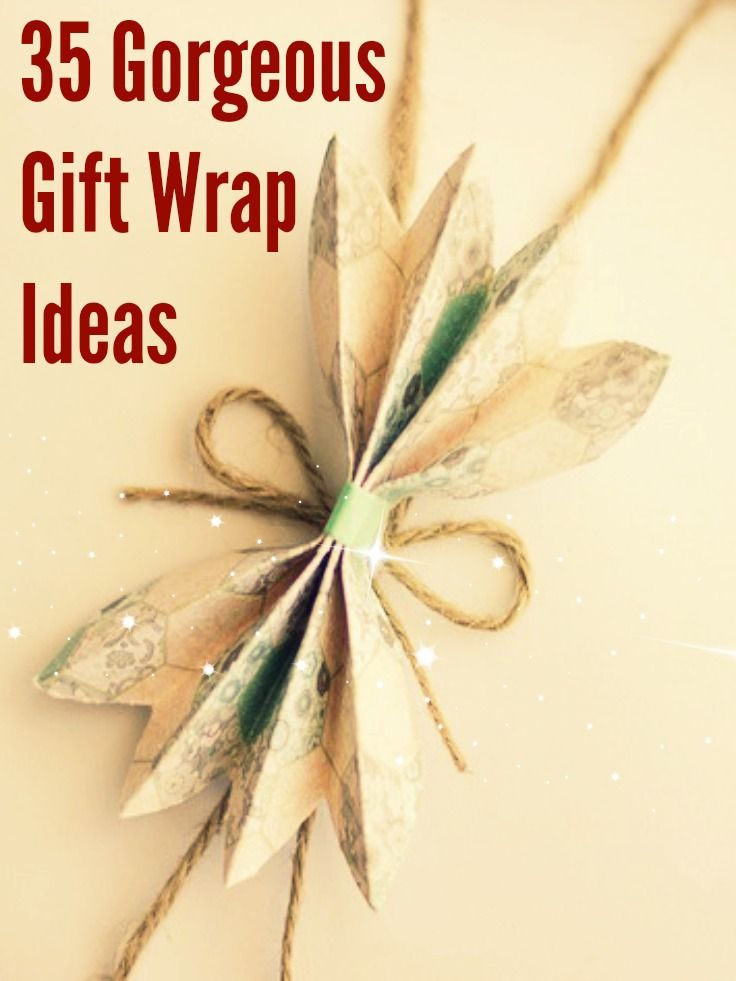 35 Gorgeous Christmas Gift Wrapping Ideas...taking inspiration from some of the most beautiful Scandinavian gift wrap ideas