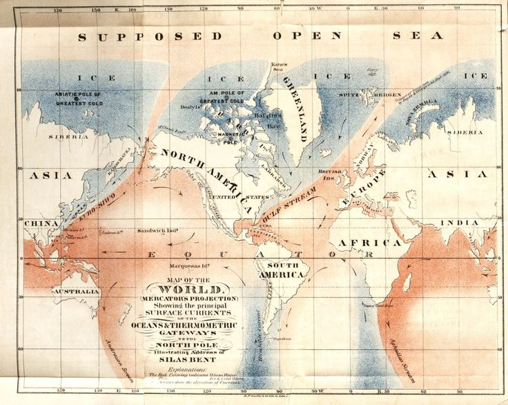 The Best North Pole Map Ideas On Pinterest Postcards - Us navy map after pole shift