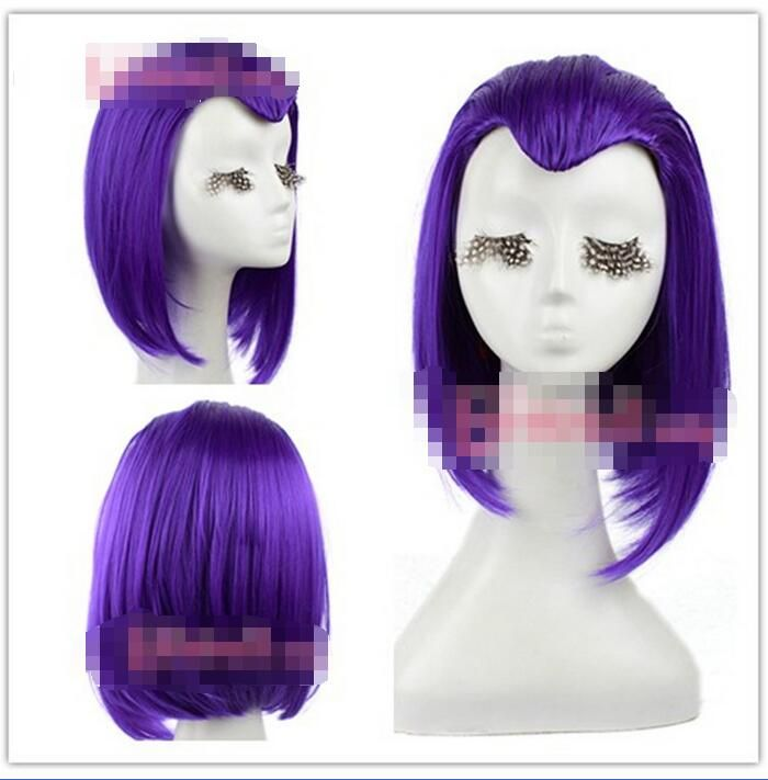 Wholesale& heat resistant LY >> 35cm Medium Purple straight Cosply Wig 5.24-in Synthetic Wigs from Beauty & Health on Aliexpress.com | Alibaba Group