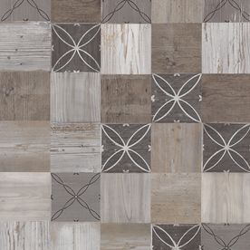 Shop Pergo MAX Premier 6.14-in W x 4.52-ft L Crestwood Tile Smooth Tile Look Laminate Flooring at Lowes.com