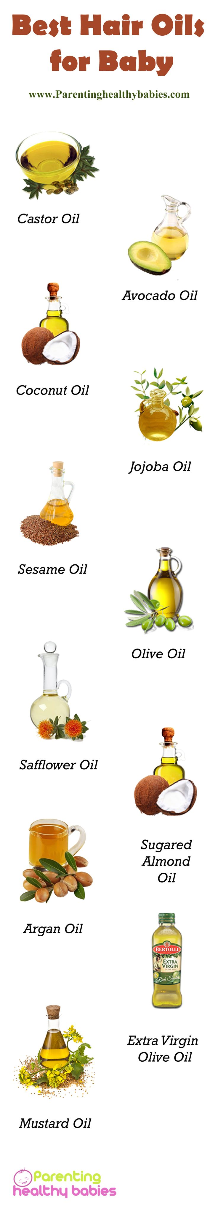 Top 11 Oils for Baby Hair Growth