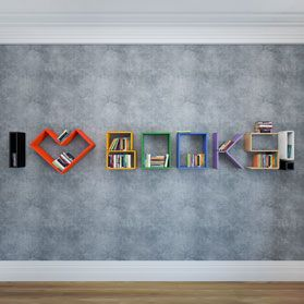 Полки LATITUDE Flex Shelf I Love Books
