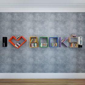 Полки LATITUDE Flex Shelf I Love Books