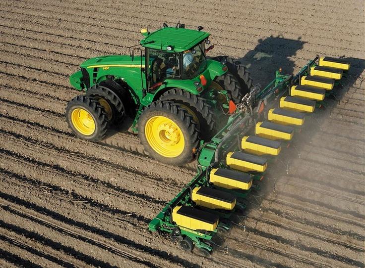 Biggest Seeder Of John Deere: In 1957, John Deere Six-row Planter And Cultivator