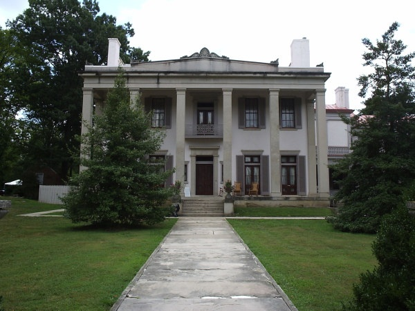 Inspired by Greek architecture and democracy, Greek Revival homes feature a symmetrical, formal shape.   See examples of the Greek revival architectural style and famous Greek revival landmarks.