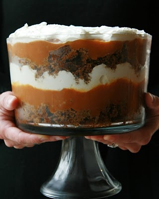 Pumpkin Trifle With Ginger Bread Cake Mix