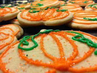Fall Bake Sale: Pumpkin Spice Sugar Cookies