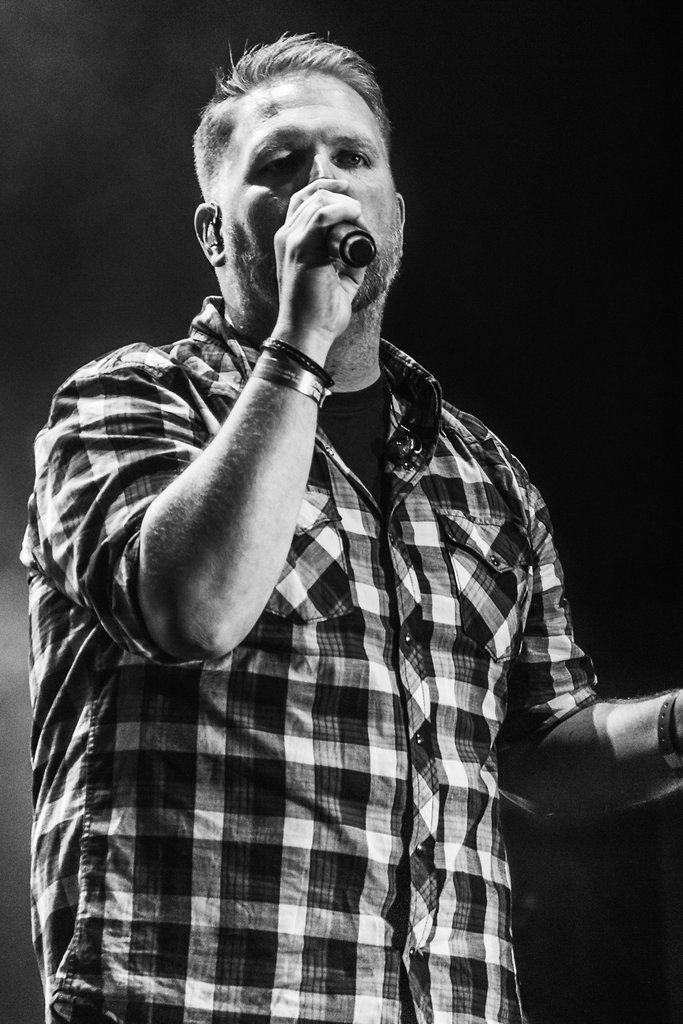 Bart Millard from MercyMe - Easterfest 2012, Toowoomba, QLD, Australia - Monochrome - Zac Harney Photography