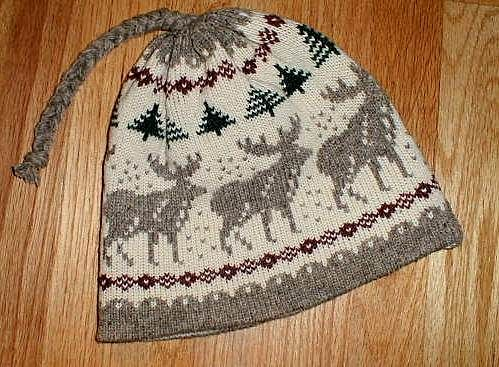 Knitting Pattern For Moose Hat : Maine Wool Knits Hats Pinterest Knitted hats, Wool and Knitting