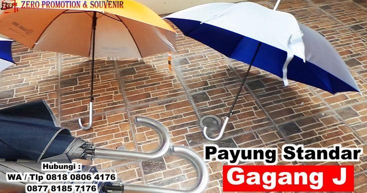 Souvenir Payung Standar Gagang J - Handle J