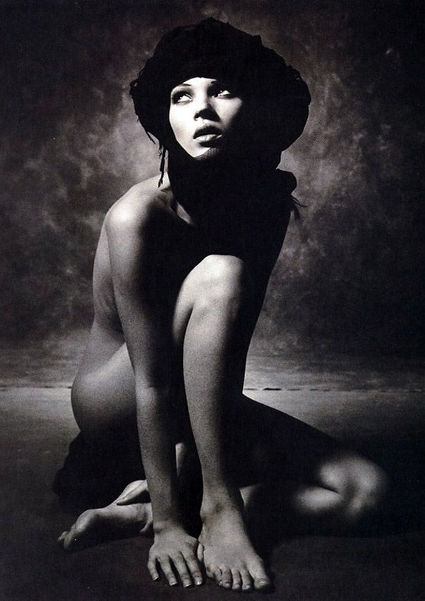Kate Moss by Albert Watson, 1993.