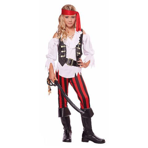Dressing up as a pirate for Halloween never goes out of style — it's just up to you to decide what kind of pirate you're going to be. Check out these costumes for men, women, and kids that'll have you ready to navigate the seas this holiday. Yo ho, yo ho, a pirate's life for me!