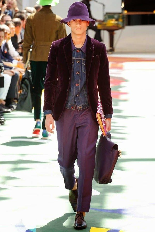 The Spell Of Fashion: Burberry Prorsum S/S 2015 menswear  http://themariopersonalshopper.blogspot.com.es/2014/06/burberry-prorsum-ss-2015-menswear.html