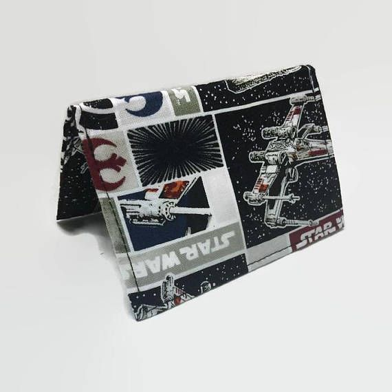 ID Holder Star Wars Wallet Gift Card Holder Mens Mini