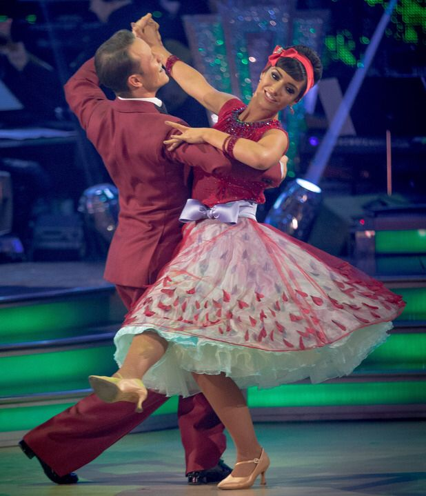 Strictly Come Dancing. Frankie Bridge's Foxtrot Dress