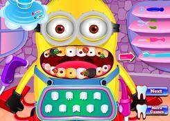 JuegosdeMinion.com - Juego: Dentista de Minion - Jugar Juegos Gratis Online Flash