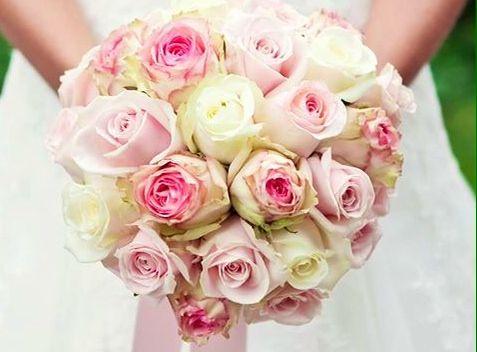 Bouquet wedding roses