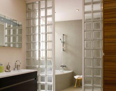 17 meilleures id es propos de salle de bains brique sur pinterest murs de briques grange. Black Bedroom Furniture Sets. Home Design Ideas