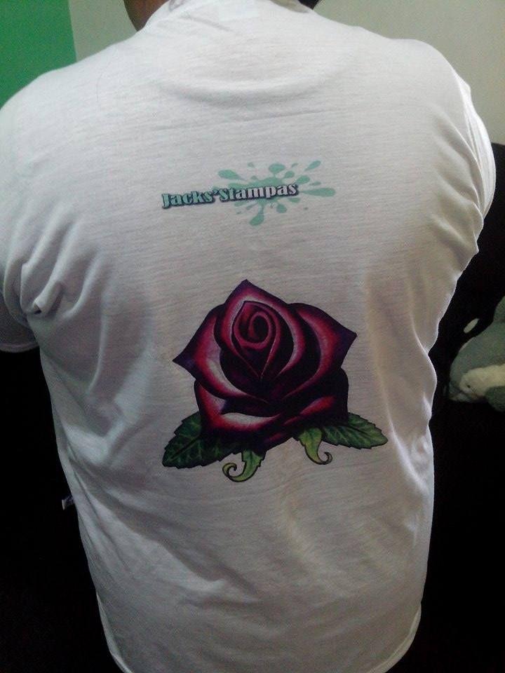 Camiseta personalizada verso