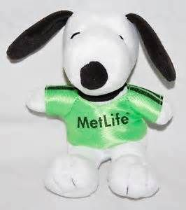 MetLife Snoopy Plush Dog Peanuts Gang Snoopy Stuffed Animal | eBay