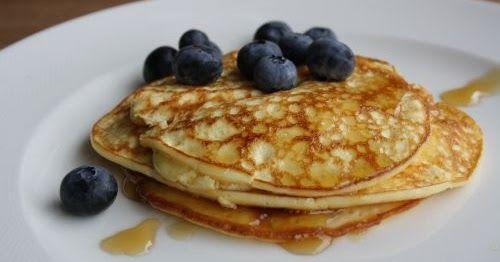 Glutenvrije pancakes  Ik heb al een favoriet glutenvrij en koolhydraatarme pannenkoeken recept, namelijk flensjes . Maar ik hou er van ...