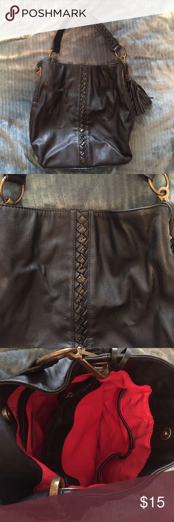 Selling this Carlos Santana black hobo bag on Poshmark! My username is: anc86. #shopmycloset #poshmark #fashion #shopping #style #forsale #Handbags
