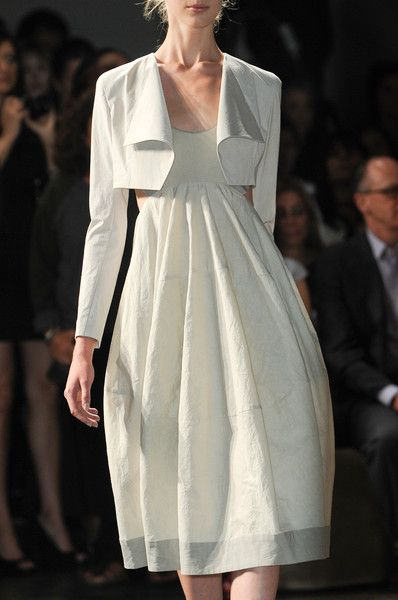 donna karan runway 2013. guess i need to get the sewing dusted off