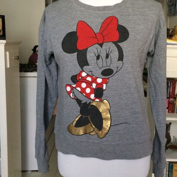 Disney Tops - LAST CALL❤️Minnie Mouse Disney sweatshirt
