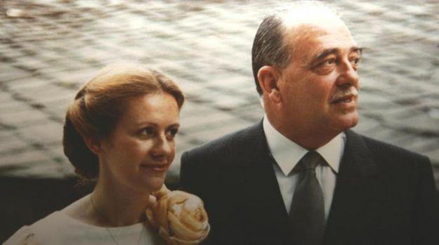Emanuela Setti Carraro con il Generale Dalla Chiesa