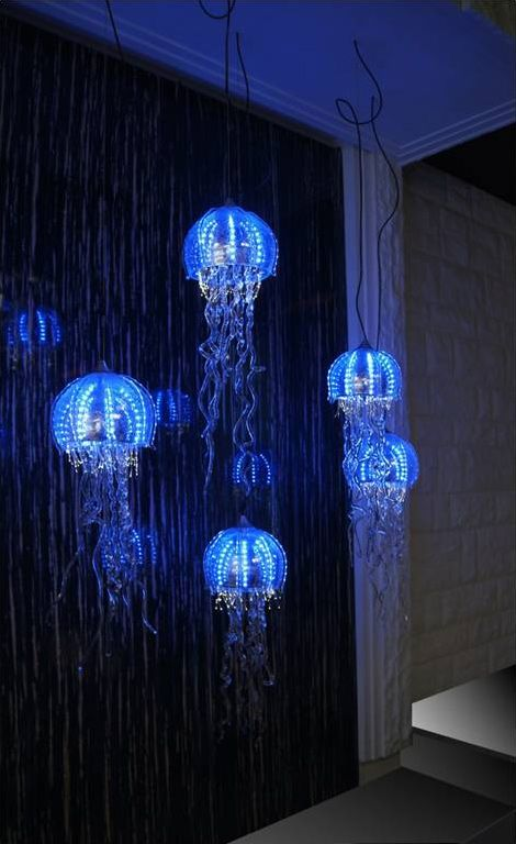 Weird but kind of cool - Jellyfish Chandeliers - Jellyfish Chandeliers -   2015 Contemporary Chandelier Company