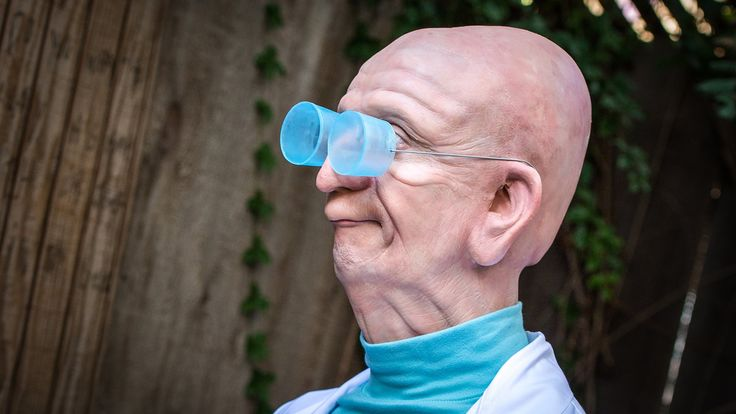 Real-Life Professor Farnsworth from Futurama!