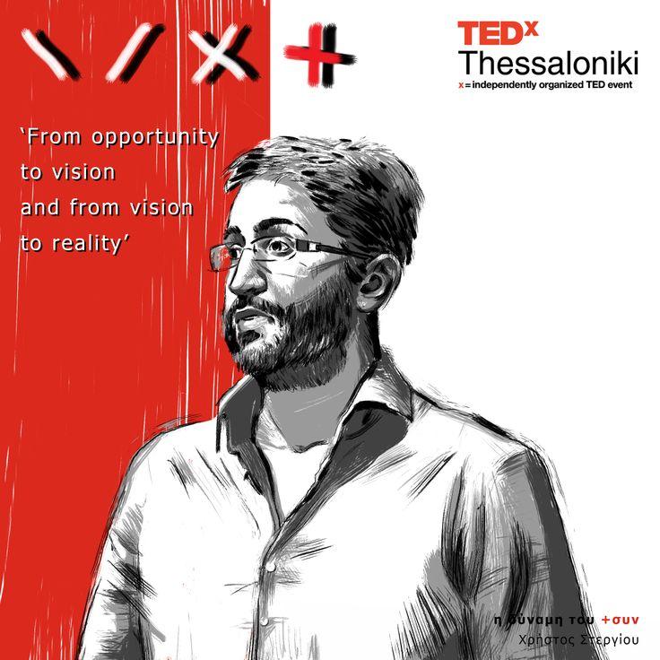 Christos Stergiou at TEDx Thessaloniki 2013.
